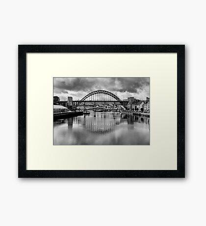 River Tyne Bridges Framed Print