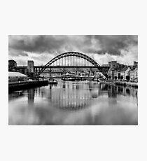 River Tyne Bridges Photographic Print