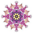 Mandala - Petals by danita clark