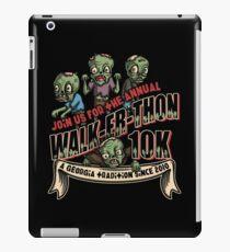 Walk-er-thon iPad Case/Skin