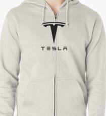 Tesla Motors Zipped Hoodie