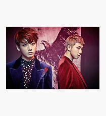 BTS Wings - Jungkook and Namjoon  Photographic Print