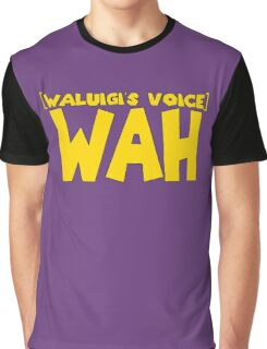 Wah Waluigi Voice Graphic T-Shirt
