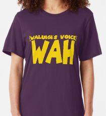 Wah Waluigi Voice Slim Fit T-Shirt