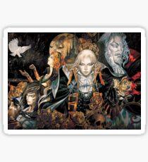 castlevania symphony Sticker