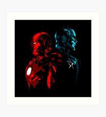 Captain Iron Art Print