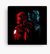 Captain Iron Canvas Print