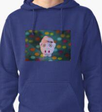 Pig in Polka Dots Pullover Hoodie