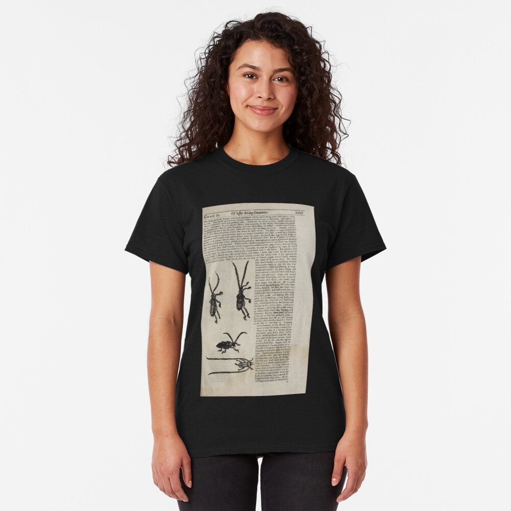 The History of Four Footed Beasts Serpents and Insects 183 Classic T-Shirt