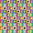 Modern Life Tile Design by sklorange