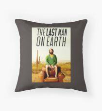 Last Man on Earth Throw Pillow