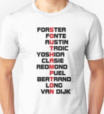Southampton spelt using player names 1 T-Shirt