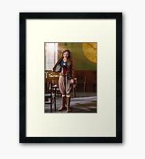 Peggy's Secret Armour Framed Print