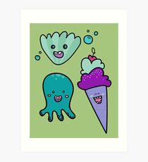 Summer Beings Art Print