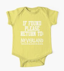 If Found, Please Return to Neverland Kids Clothes