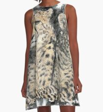 Cheetah Siblings A-Line Dress