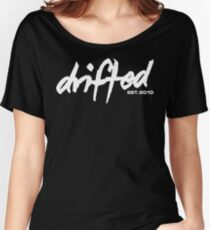 Drifted Classic Tee - Black Women's Relaxed Fit T-Shirt