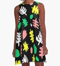 Paradise Tropic black A-Line Dress
