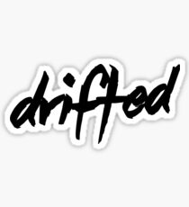 Drifted Classic Logo Sticker - Black Sticker