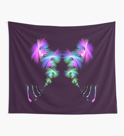 Fly away #fractal Wall Tapestry