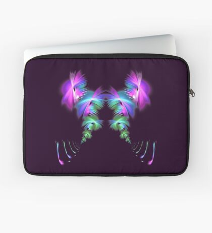 Fly away #fractal Laptop Sleeve