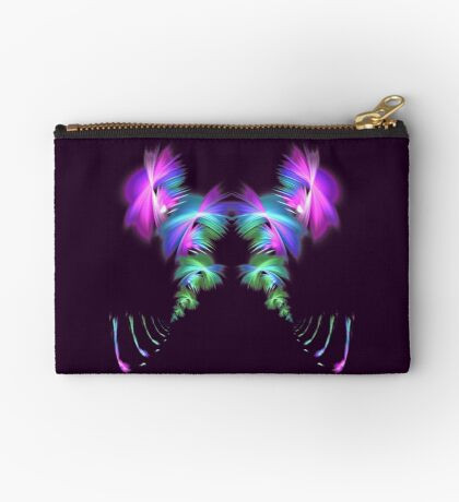 Fly away #fractal Zipper Pouch
