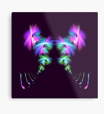 Fly away #fractal Metal Print