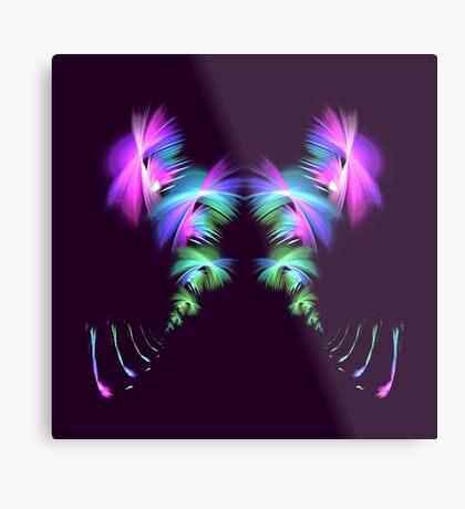 Fly away #fractal Metal Print