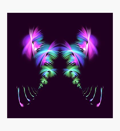 Fly away #fractal Photographic Print