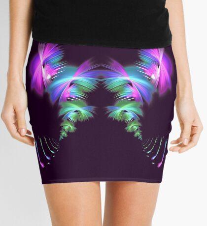 Fly away #fractal Mini Skirt