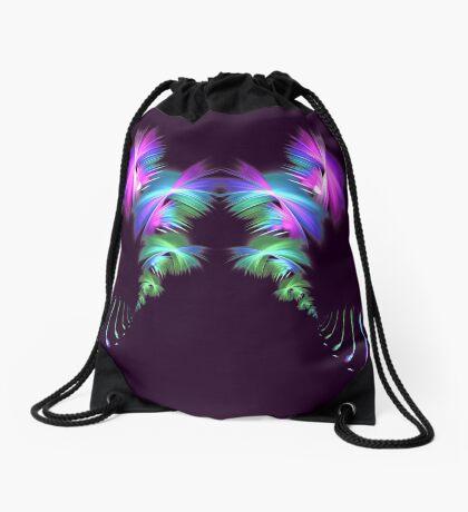 Fly away #fractal Drawstring Bag