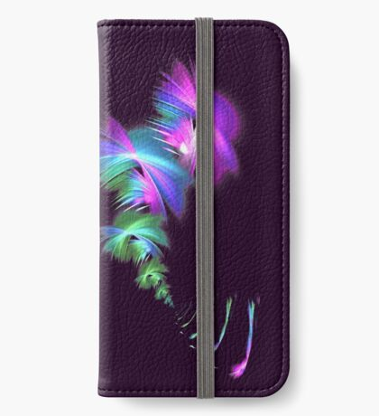 Fly away #fractal iPhone Wallet