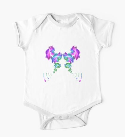 Fly away #fractal Kids Clothes