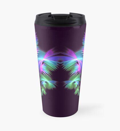 Fly away #fractal Travel Mug