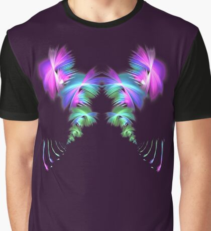 Fly away #fractal Graphic T-Shirt