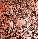 Skull in eyeland by SundaySchool