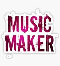 Music Maker Sticker