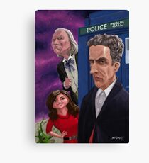 The Twelfth Doctor Who Canvas Print