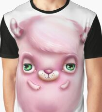 Monster in Pink #2 - Creepy Cute Graphic T-Shirt
