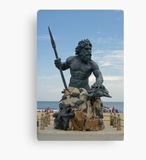 King Neptune Canvas Print