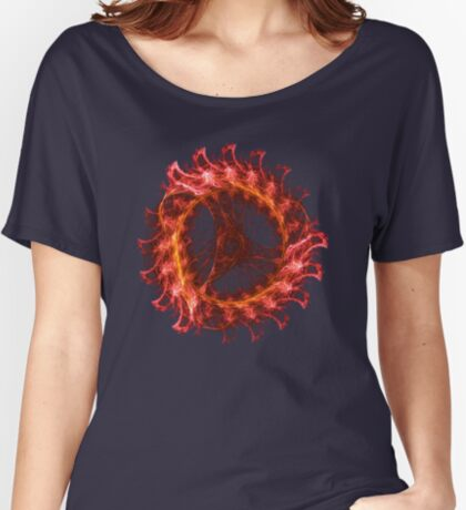 I am the Fire! #fractal Relaxed Fit T-Shirt