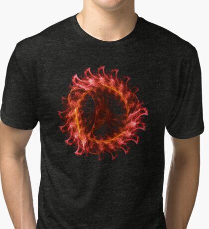 I am the Fire! #fractal Tri-blend T-Shirt