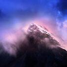 Mountain Twilight by John Poon
