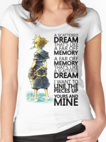 A Scattered Dream Women's Fitted Scoop T-Shirt