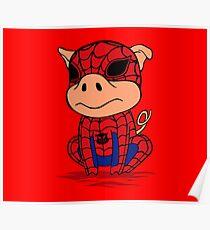 Spider-Pig Poster
