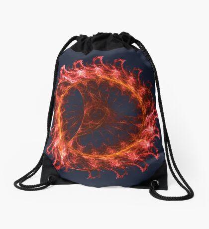I am the Fire! #fractal Drawstring Bag