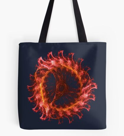 I am the Fire! #fractal Tote Bag