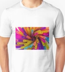 Coloured Straws T-Shirt