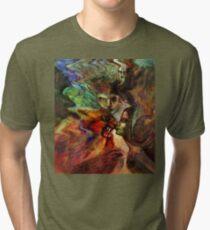 Kissing the Beast Tri-blend T-Shirt