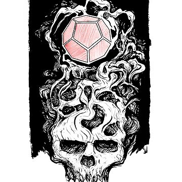 Dodecahedron Skull by DrSoed